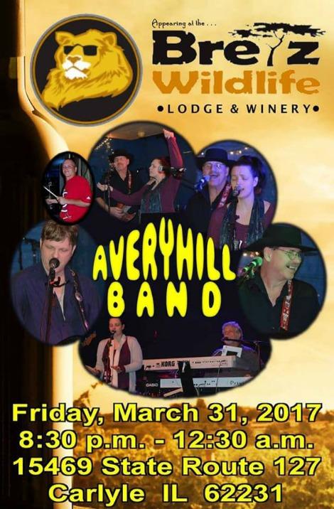 Avery Hill Band 3-31-17