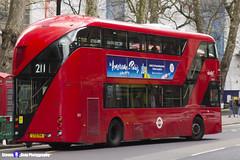 Wrightbus NRM NBFL - LTZ 1714 - LT714 - Waterloo 211 - Abellio London - London 2017 - Steven Gray - IMG_8247