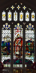 Rattlesden Great War window by William Aikman, 1920