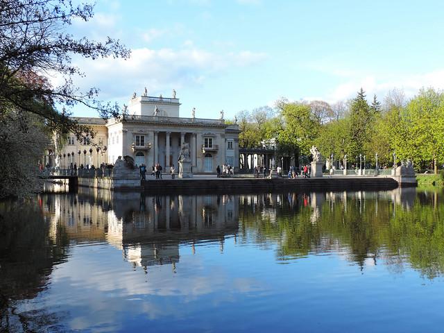 Lazienki Palace, Warsaw, Poland