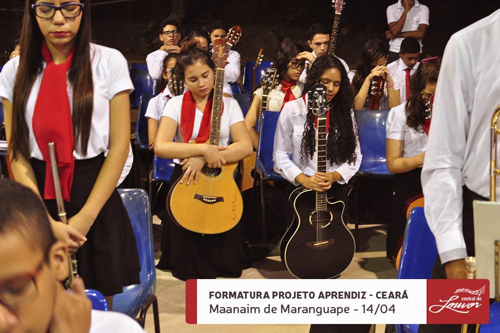 Formatura do Projeto Aprendiz Ceará