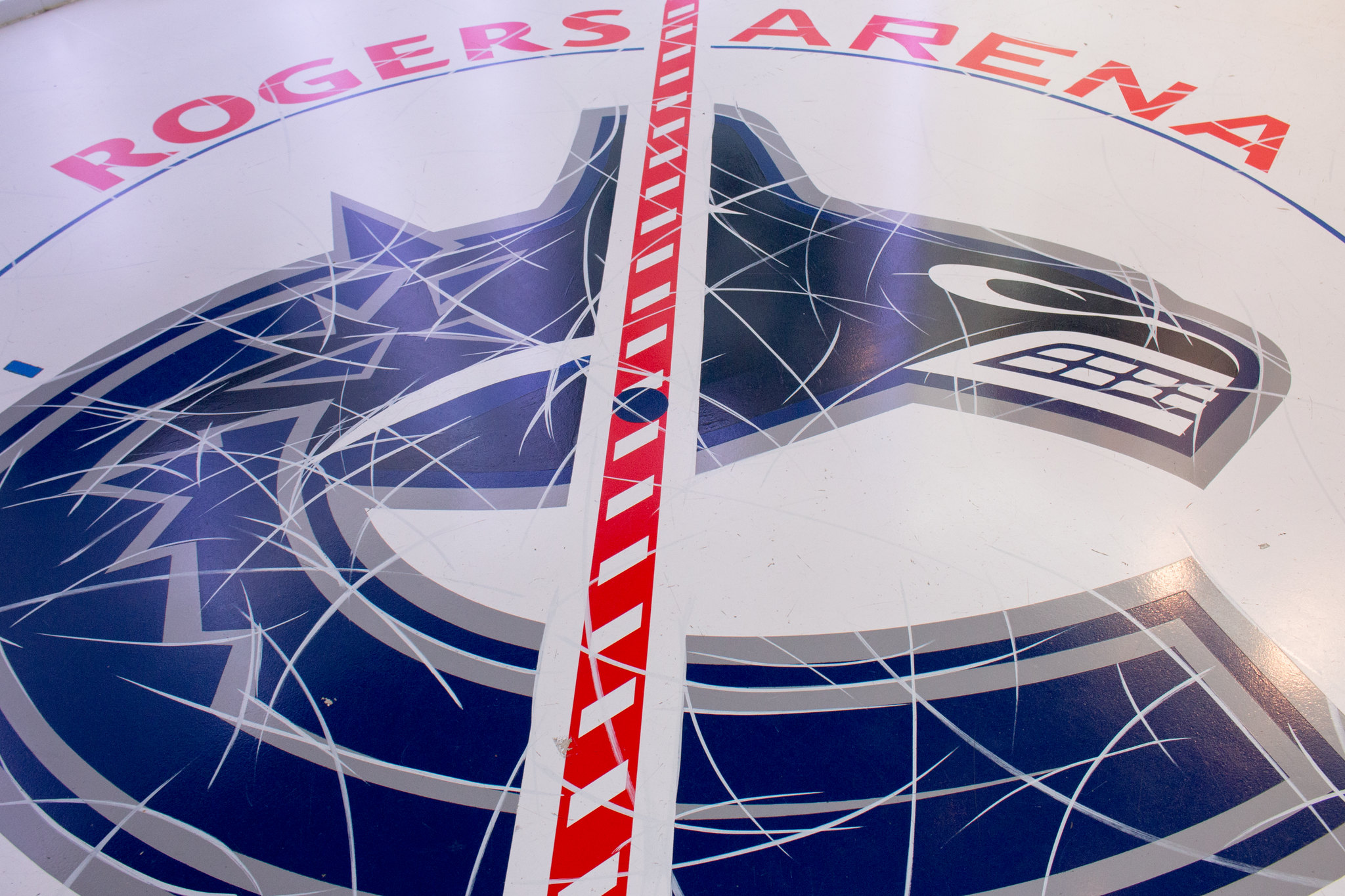 Rogers Arena Canucks