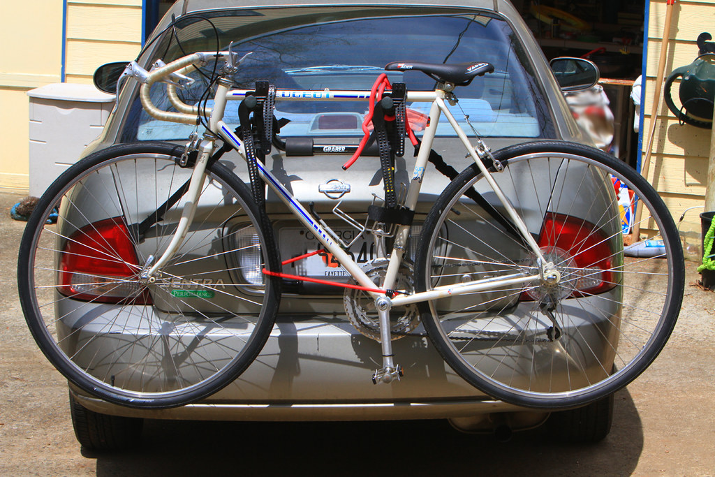 Peugeot on Bike Carrier
