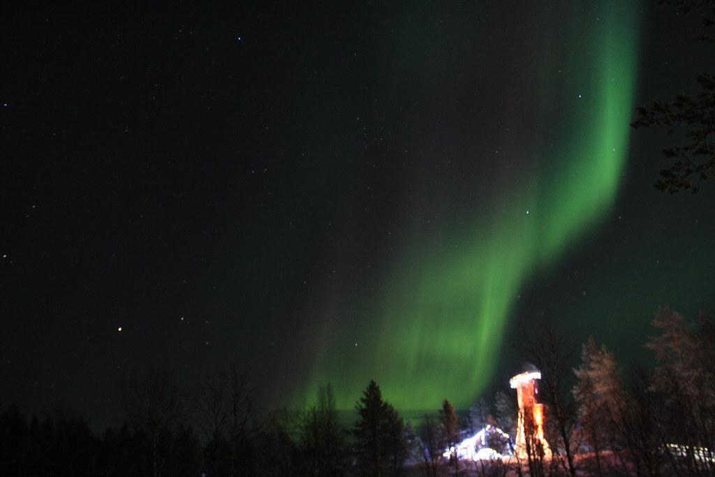 Aurora Borealis in Kakslauttanen,Finland