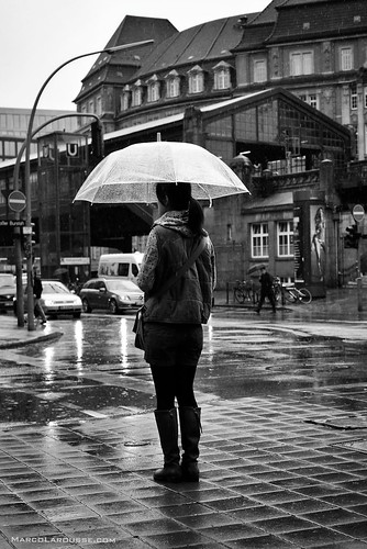 Hamburg rain street photography - Fuji X100S | by HamburgCam