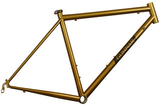 Gunnar Roadie in Gold Rush over Charcoal | by Gunnar Cycles