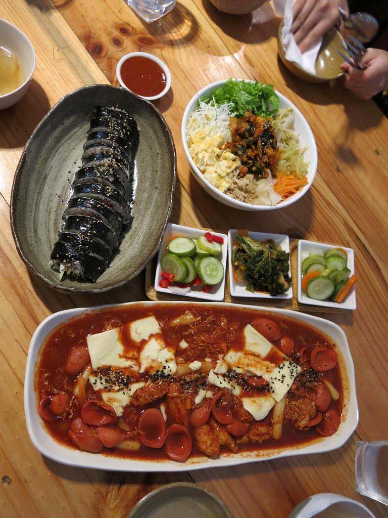 Most Famous Korean Street Food Topokki Bibimbab And Kimb Flickr