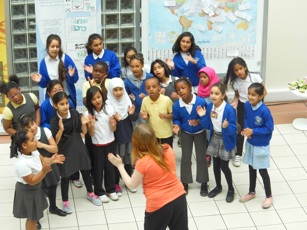 Multi Cultural Manchester The Golden Choir From Heald Pl