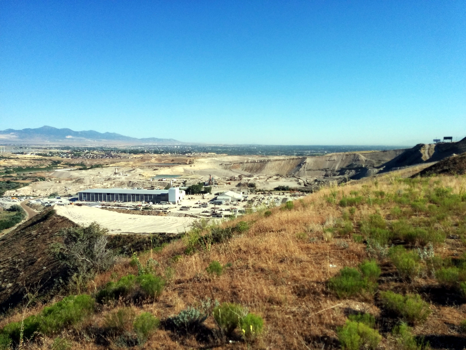 NSA data center (seen from Freedom Ridge) 4, Bluffdale, Utah, USA | by gruntzooki
