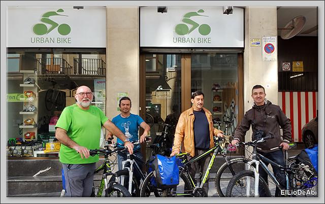 Camino de Santiago por Bilbao con Urban Bike 1