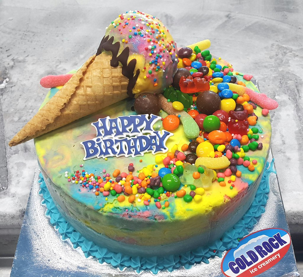 Ice Cream Cake Cone Explosion Aspley Everton Park Deceptio