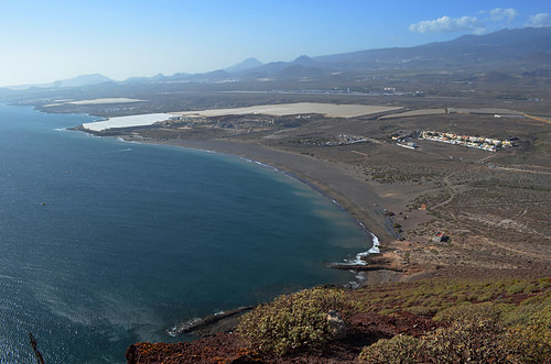 Looking south from Montaña Roja, Tenerife