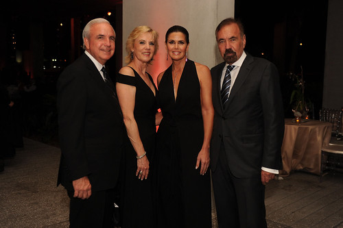 Carlos Gimenez, Lourdes Gimenez, Darlene Perez, & Jorge Perez at PAMM Art of the Party Presented by Valentino