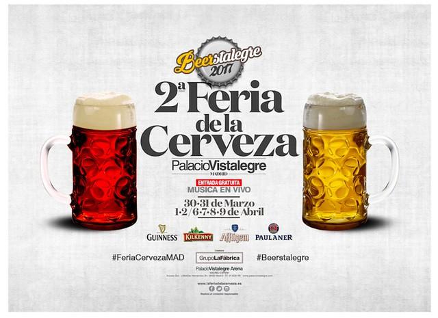 ¡Beerstalegre 2017!:segunda edición de la Feria de la Cerveza a Madrid
