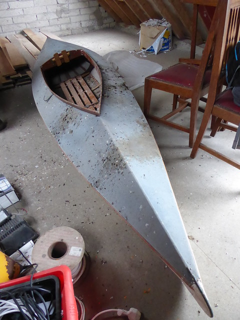 cleaning a canvas kayak