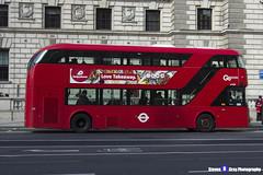 Wrightbus NRM NBFL - LTZ 1458 - LT458 - Go Ahead London - London 2017 - Steven Gray - IMG_8574