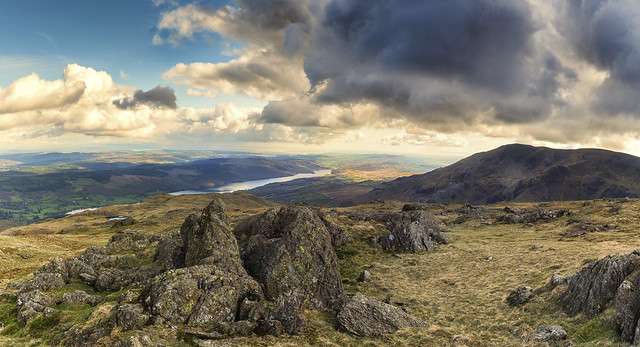 Coniston Water from Wetherlam, Lake Disrict