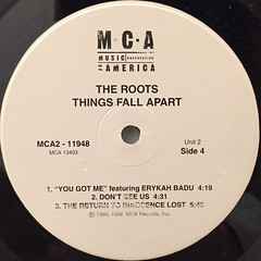 THE ROOTS:THINGS FALL APART(LABEL SIDE-D)