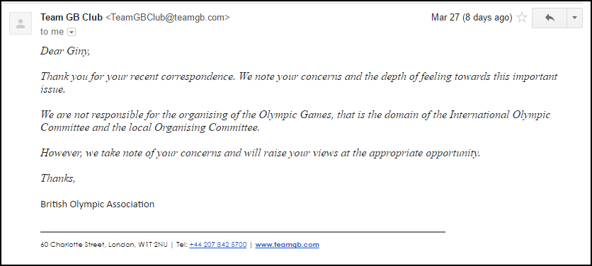 Response from BOA 032717