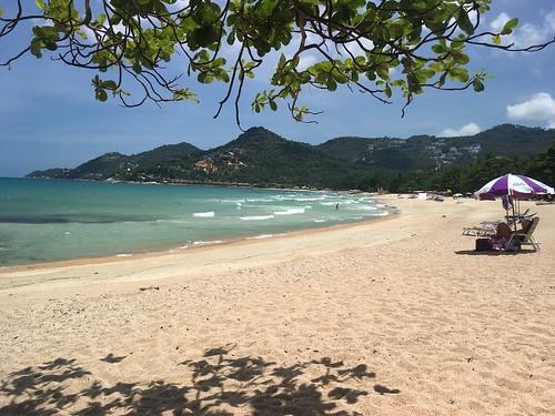 サムイ島チャウエンノイビーチ Chaweng Noi Beach Koh Samui