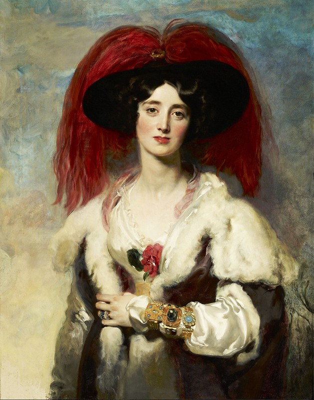 Thomas Lawrence - Julia, Lady Peel (1827)