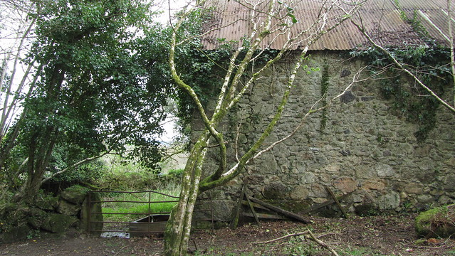 Farm building on the public bridleway.
