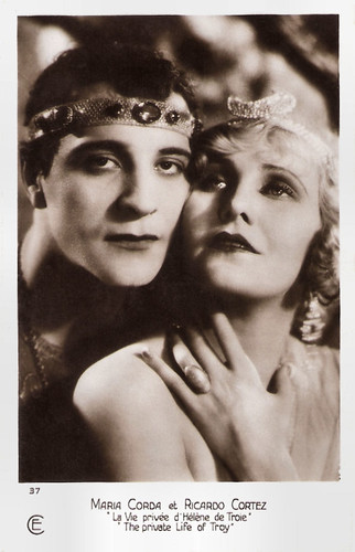 Maria Corda and Ricardo Cortez in The Private Life of Helen of Troy (1925)