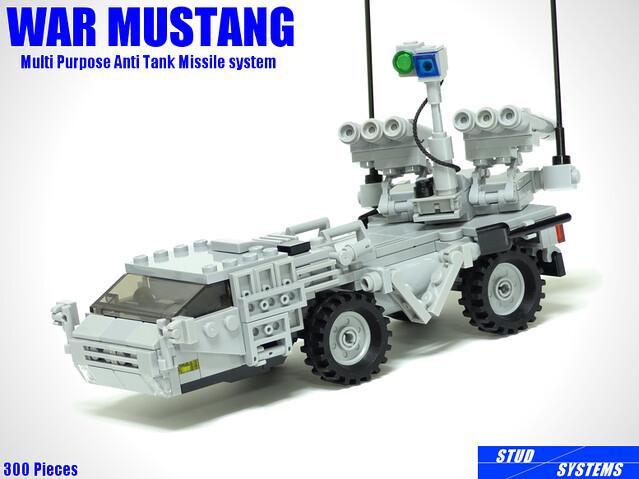 Tanks beware, the War Mustang is locked on