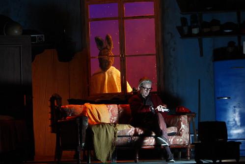 Inauguraci¿n  Festival de Teatro con la Obra Labio de la liebre.