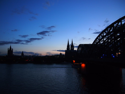 Cologne, Germany- Sunset Cologne | by K_A_I