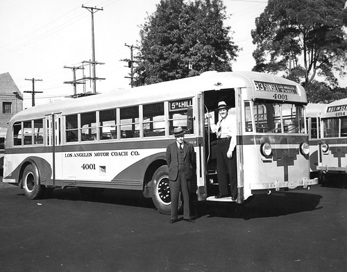 Los Angeles Motor Coach Bus C W Smith Of