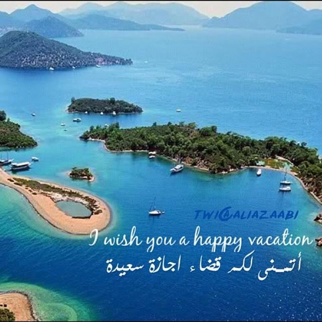 I Wish You A Happy Vacation