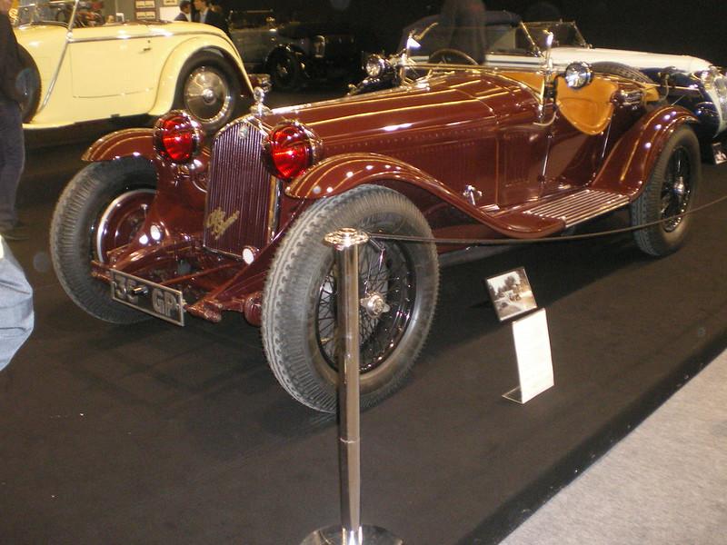 Alfa Romeo 2300/8C Compresseur Zagato 1932 Retromobile 2009  14358973537_1dfe8d7ae7_c