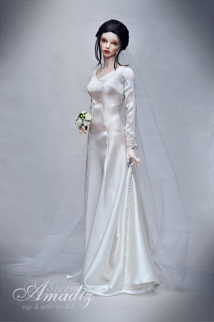 Bella swan wedding dress repeat of bella swan twilight w flickr bella swan wedding dress by amadiz junglespirit Gallery