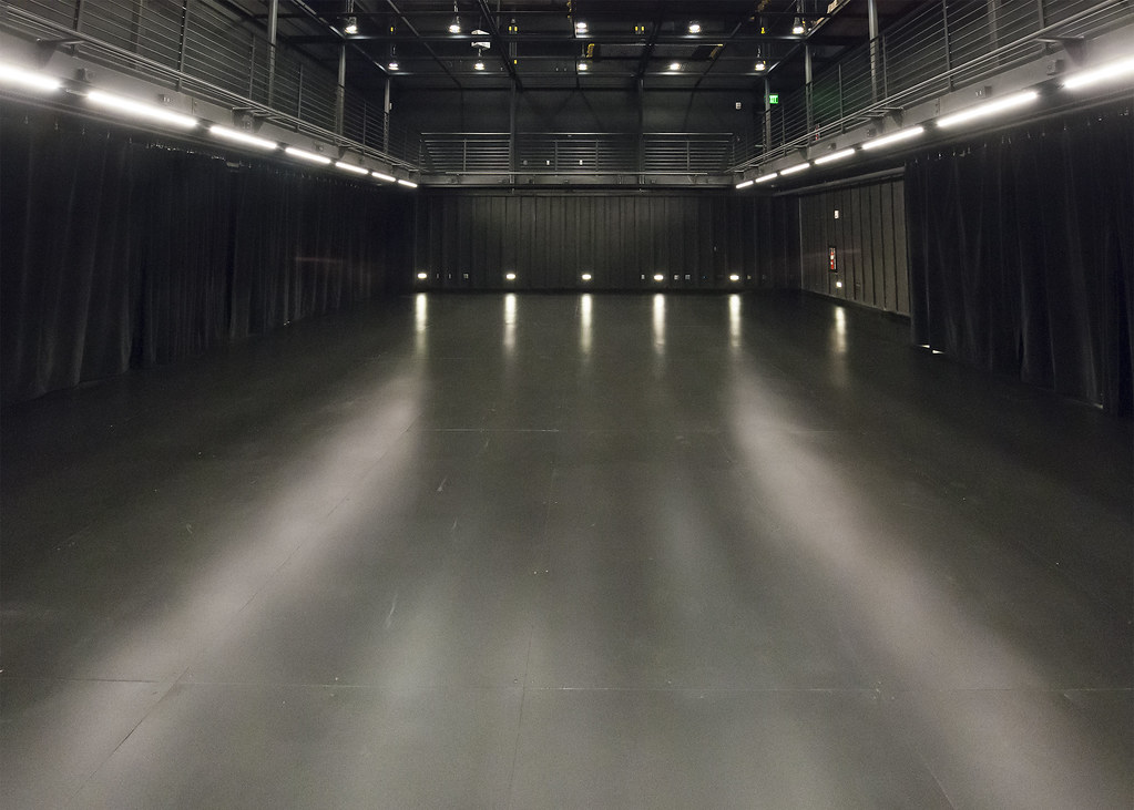 A Black Box Theatre Is A Square Performance Space With Bla