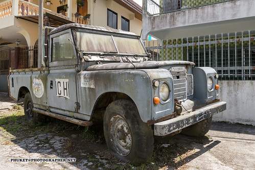 Icon of Cameron Highlands - old Land Rover Defender | by Phuketian.S