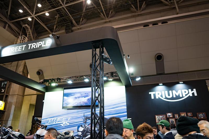 Tokyo MC Show 2017 : Triumph