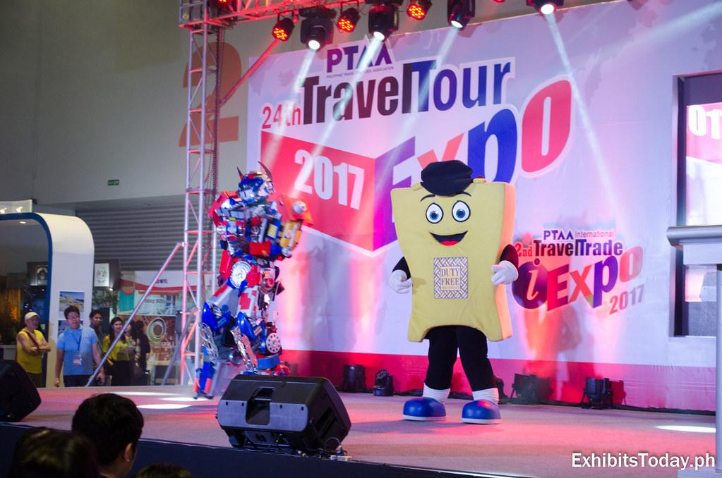 Duty Free presentation at 24th PTAA Travel Tour Expo 2017