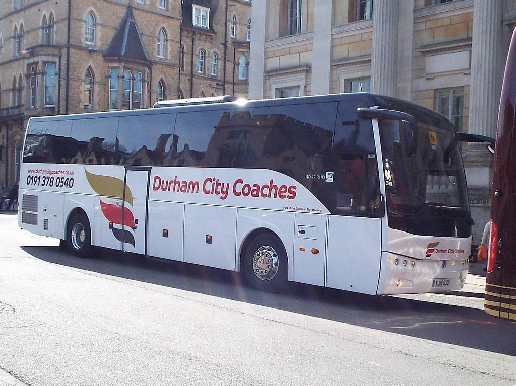 Yj16ejc Durham City Coaches At Oxford Trevor Plackett Flickr