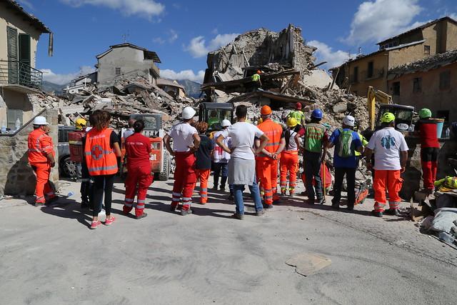 Terremoto centro Italia: forze in campo