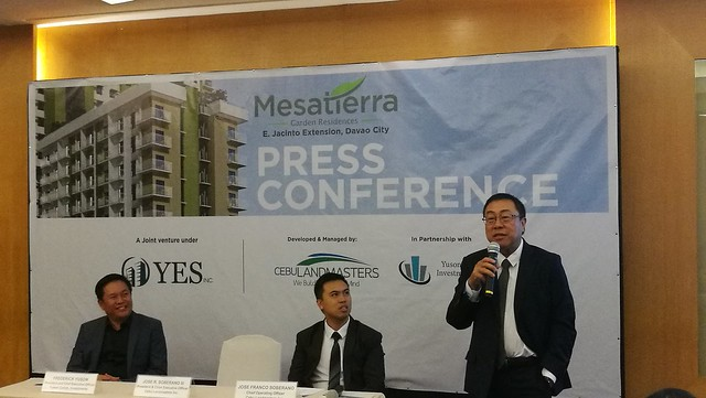 DavaoLife.com | Jose Soberano III President & CEO of Cebu Landmasters Inc - Welcome Home to MesaTierra Garden Residences in Progressive Davao City