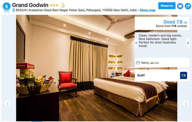 Hotel Grand Godwin Delhi India