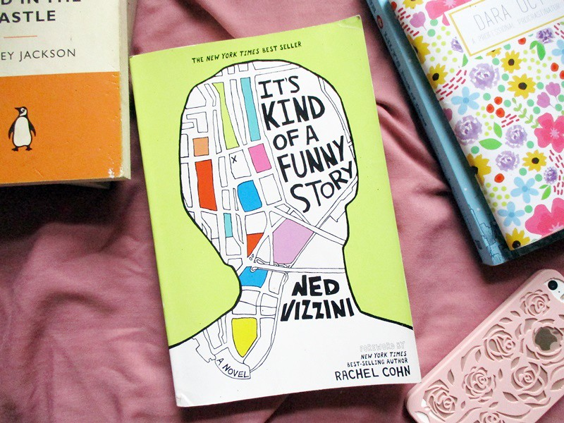 It's Kind of a Funny Story by Ned Vizzini - Hola Darla