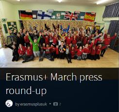 Erasmus+ March press round-up