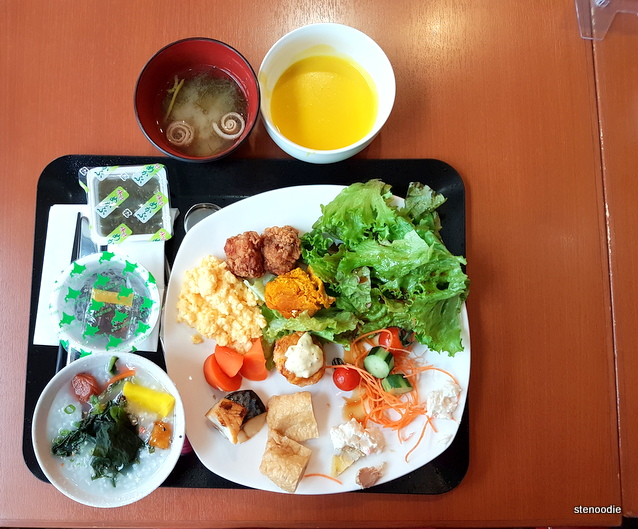 breakfast at Mecure Sapporo Hotel