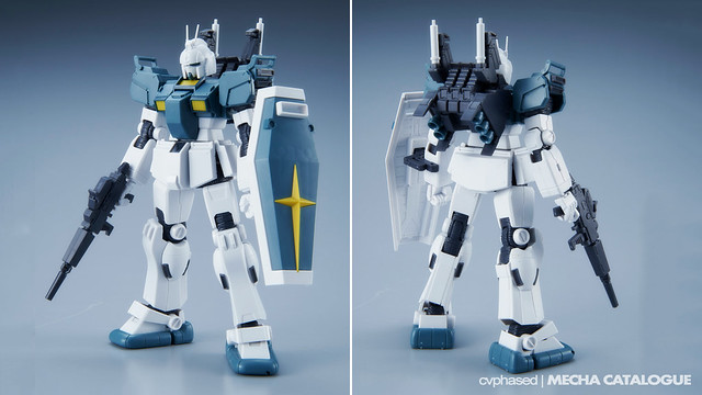 HG Gundam Ground Type S [Gundam Thunderbolt] - Straight Build Preview
