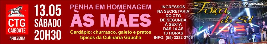 13.05 Anúncio Penha das Mães CTG Caiboaté