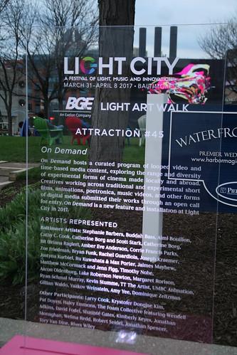 Light City, Baltimore, April 1, 2017