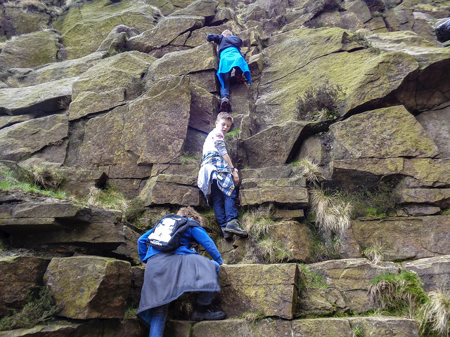 Crowden Clough scramble