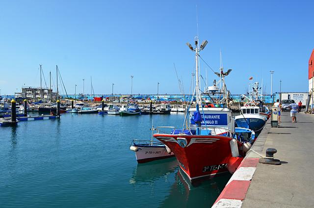 Fishing boats, Los Cristianos, Tenerife